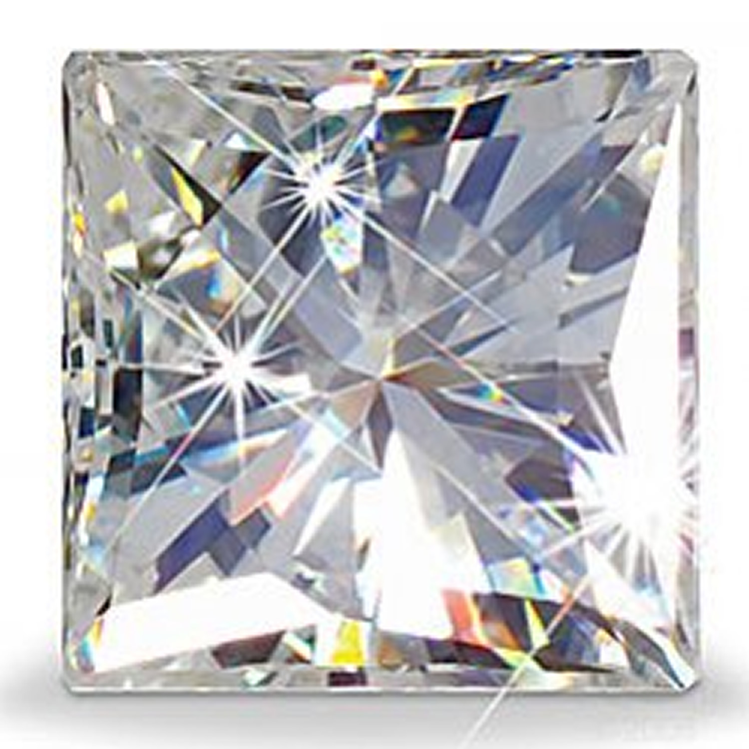 nature diamond gemstone in second moissanite the mineral hardest after
